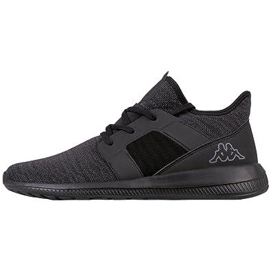 Kappa Unisex-Erwachsene Trust Sneaker, Schwarz (1111 Black), 45 EU