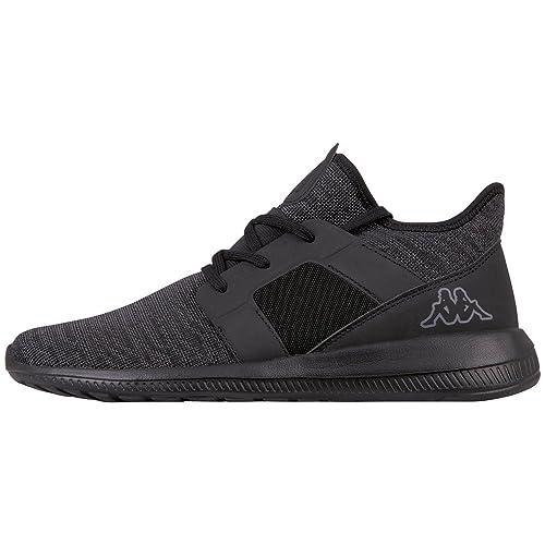 Kappa Flap, Sneaker Unisex-Adulto, Nero (1111 Black 1111 Black), 40 EU