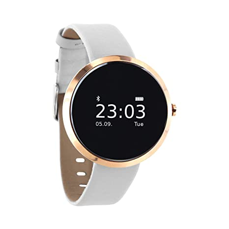 "Xlyne SIONA XW FIT 0.95"" OLED Oro Reloj Inteligente - Relojes Inteligentes (2,"