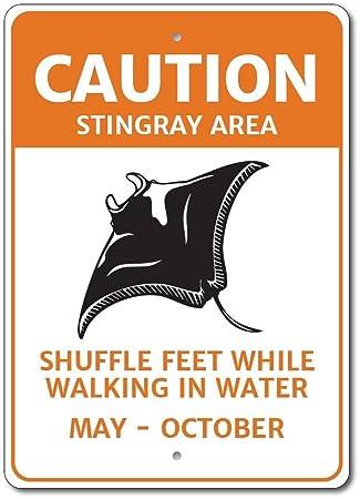 Amazon.com: crysss Janet Carmen Stingray Sign, Stingray ...