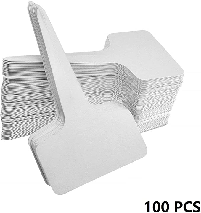 200 Large Wrap Around 9 inch x 3//4 inch plastic plant labels nursery loop tags pot markers