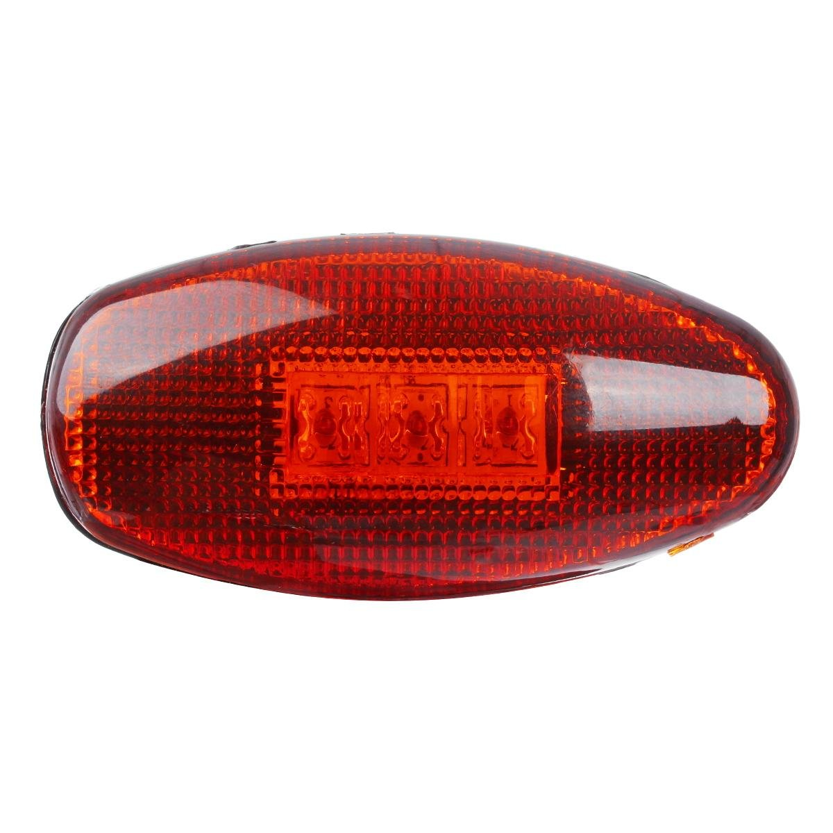 Partsam 2Pcs Replacement for Chevy and GMC 1999-2012 LED Front Repair Dually Bed Side Fender Marker Lamp