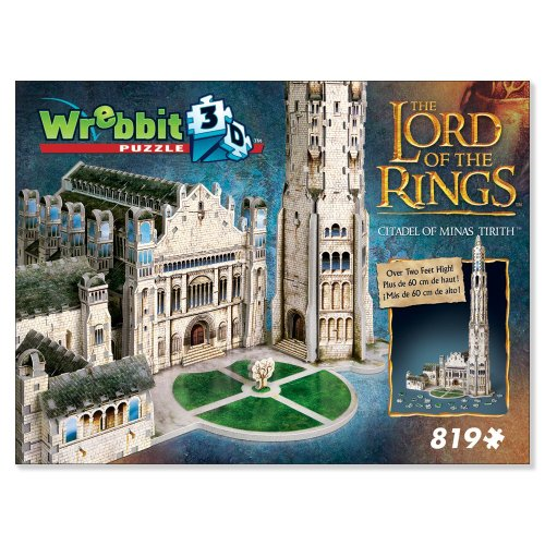 Lord of the Rings Puz 3-d - Citadel of Minas Tirith by Wrebbit