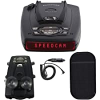Escort Passport S75g High Performance Radar and Laser Detector Bundle with Slip-Free Car Mat