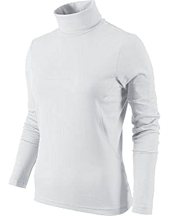 4eb197e31c03f1 WHITE MENS POLO ROLL NECK TOP HEAVY COTTON S,M,L,XL,XXL,3XL 4XL * (2XL):  Amazon.co.uk: Clothing