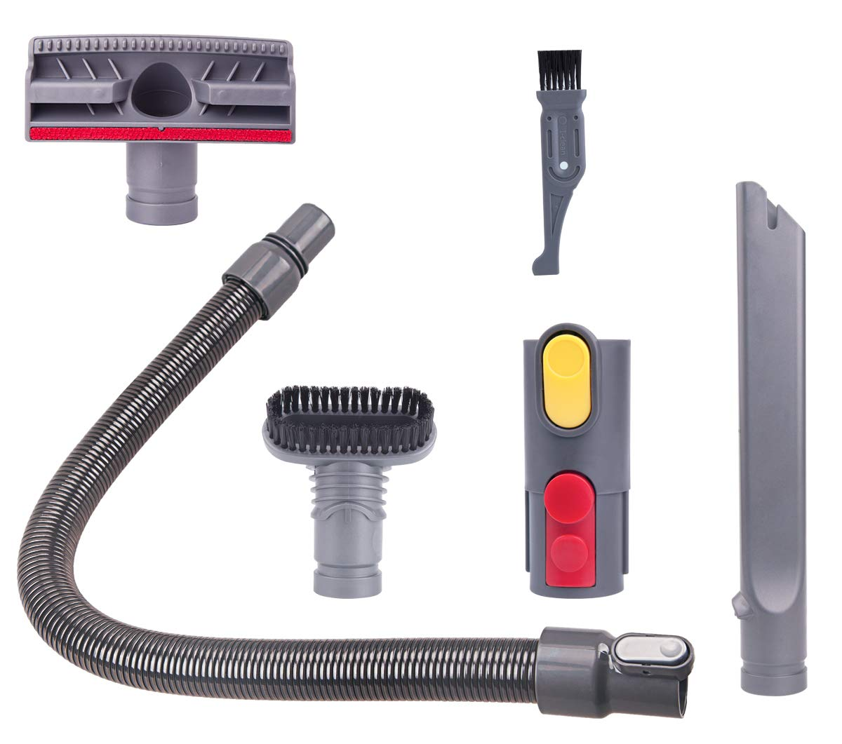 I clean Replacement Dyson Attachments, 5 Packs for Dyson V8 Absolute,V8 Animal, V10 Absolute,V7 Motorhead,V6, DC58,DC59 Absolute Cordless Stick Vacuum Parts by I clean