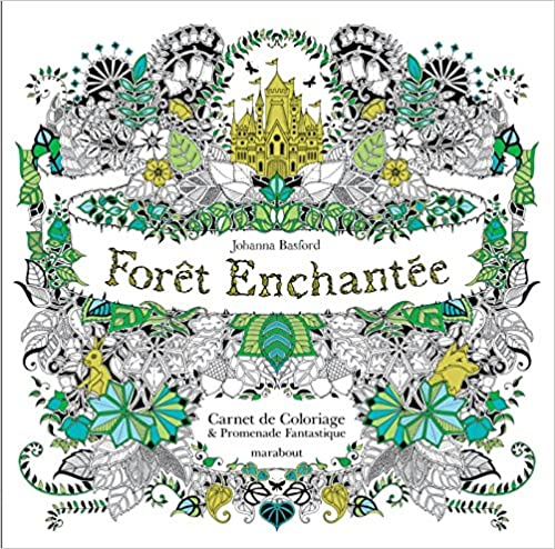 Livre Forêt enchantée de Johanna Basford