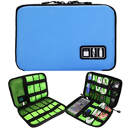 Universal Cable Organizer/Electronics Accessories Case Healthcare & Grooming Kit USB Drive Shuttle-an All in One Travel Organizer