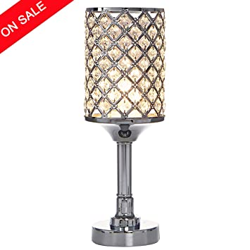 Glanzhaus Fashionable Mini Style Atmosphere Lighting Clear Crystal