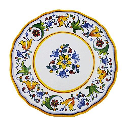 - Le Cadeaux Capri - Melamine Dinner Plate - Set of 4