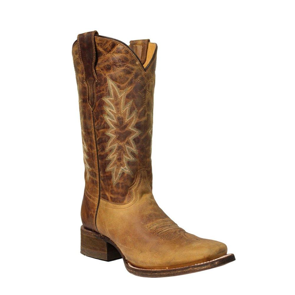 Corral New Girl's E1229 Western Boot Honey 5