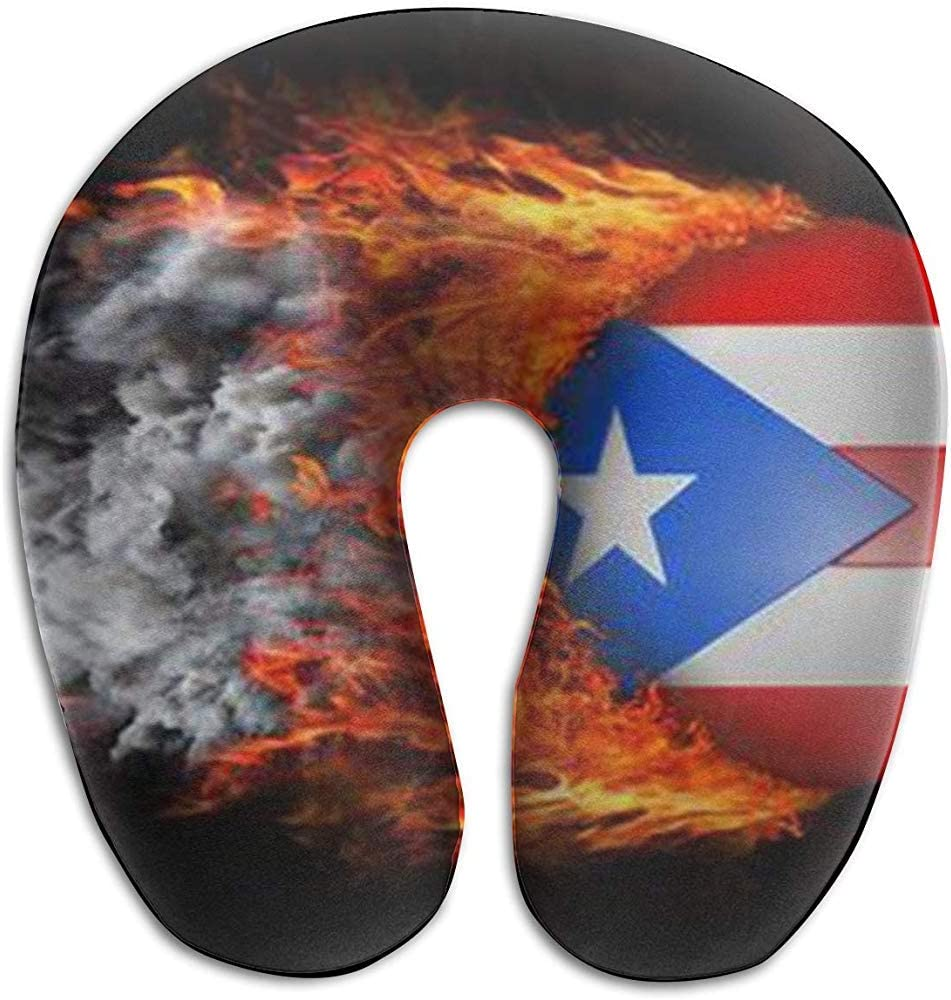 LisaArticles Neck Pillow,Puerto Rican