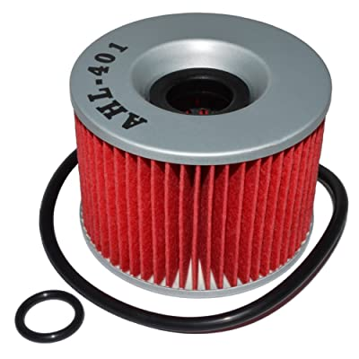 AHL 401 Oil Filter for Kawasaki EX250R Ninja 250 1986-2012: Automotive