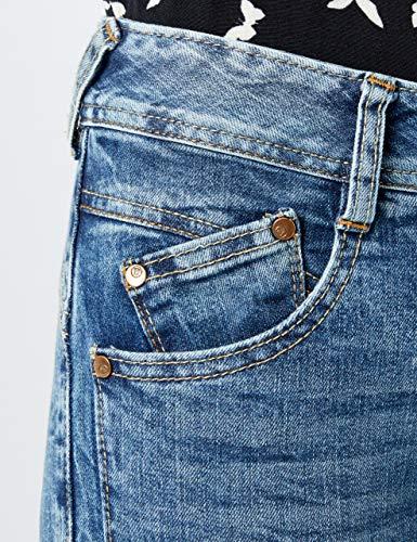 Azul Gila Herrlicher fringe 765 Slim Para Mujer Vaqueros gdxwFxvqX