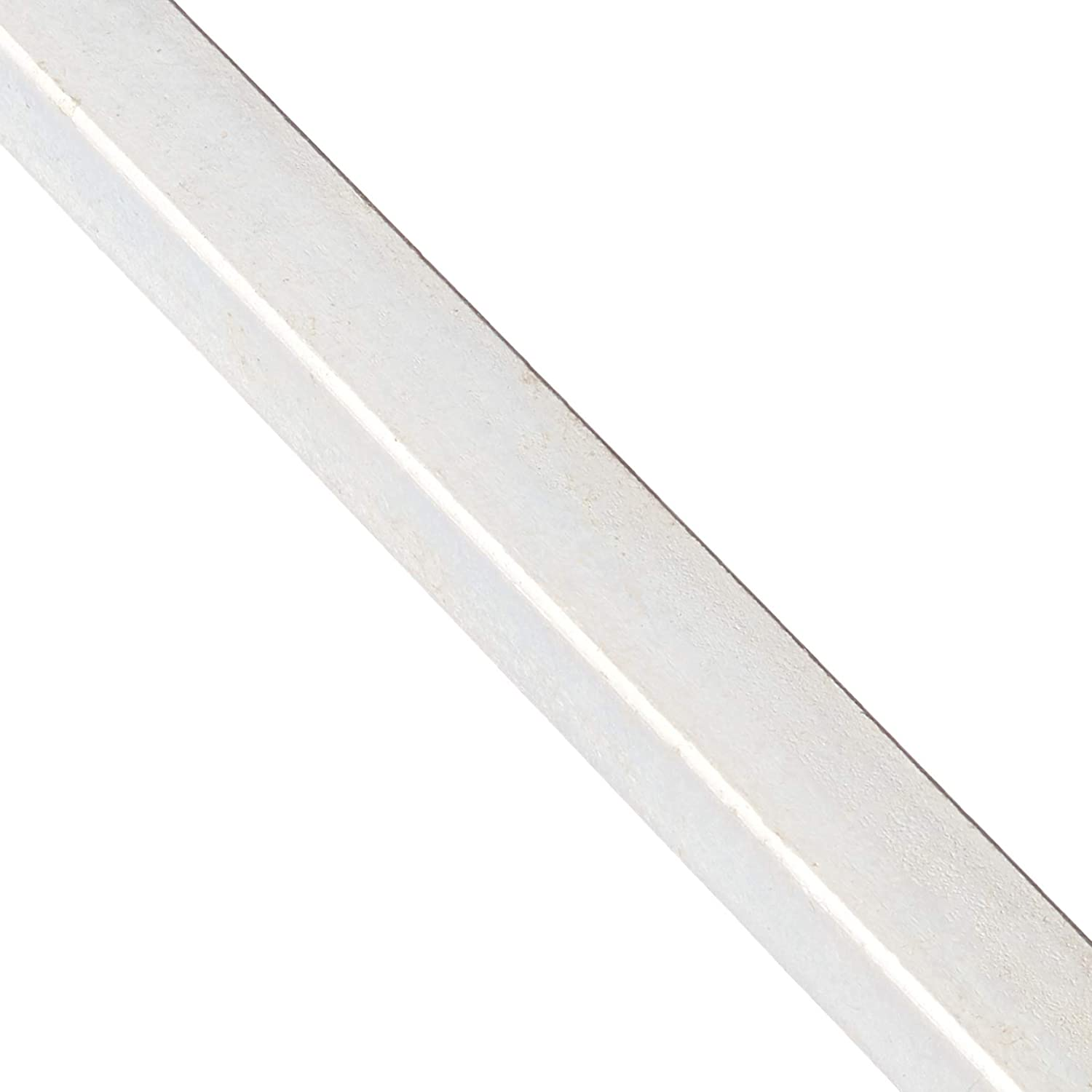 Forney 49717 Galvanized Plated Cold Rolled Keystock 3//4 x 1