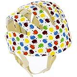 Qiorange Baby Children Infant Adjustable Safety Helmet Headguard Protective Harnesses Cap (Multicolor)