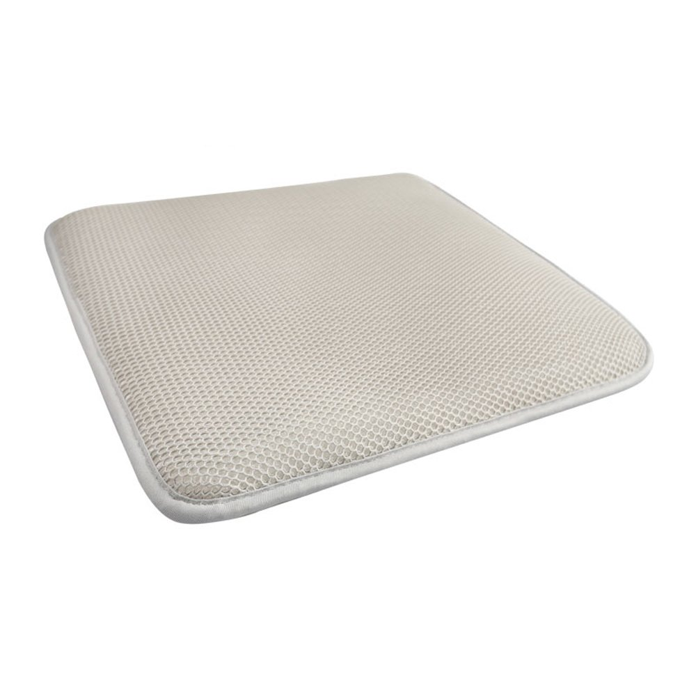 JXSHQS Seat Cushion Pad, Ergonomics Breathable Honeycomb Designed Soft Pad, Mat With Non-slip Washable Cover For Car, Office Chair, Wheelchair, Outdoor Patio Wicker Cane Rattan Wooden Metal Chair Cush by JXSHQS