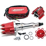 Assault Racing Products 1535021 Chevy V8 Pro Billet Red Mech. Distributor Coil Ignition Box Kit SBC BBC 327 350 396 454
