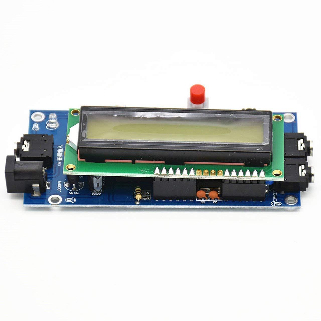 Lector de c/ódigo Morse Decodificador CW Traductor de c/ódigo Morse Ham Radio Accesorio Esencial Producto Duradero ESjasnyfall Verde