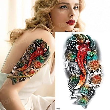 3pcs-Tatuaje Temporal Animal Lion Head Tattoo Sticker Body Art ...