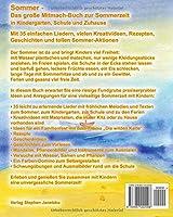 Sommer Das Grosse Mitmach Buch Zur Sommerzeit In Kindergarten
