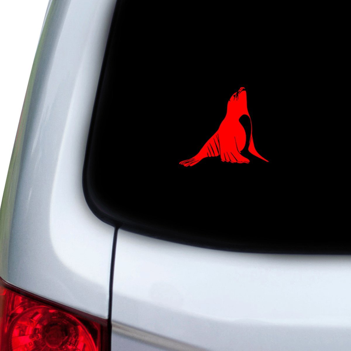 Red Doors Hoods StickAny Car and Auto Decal Series Sea Lion Sticker for Windows