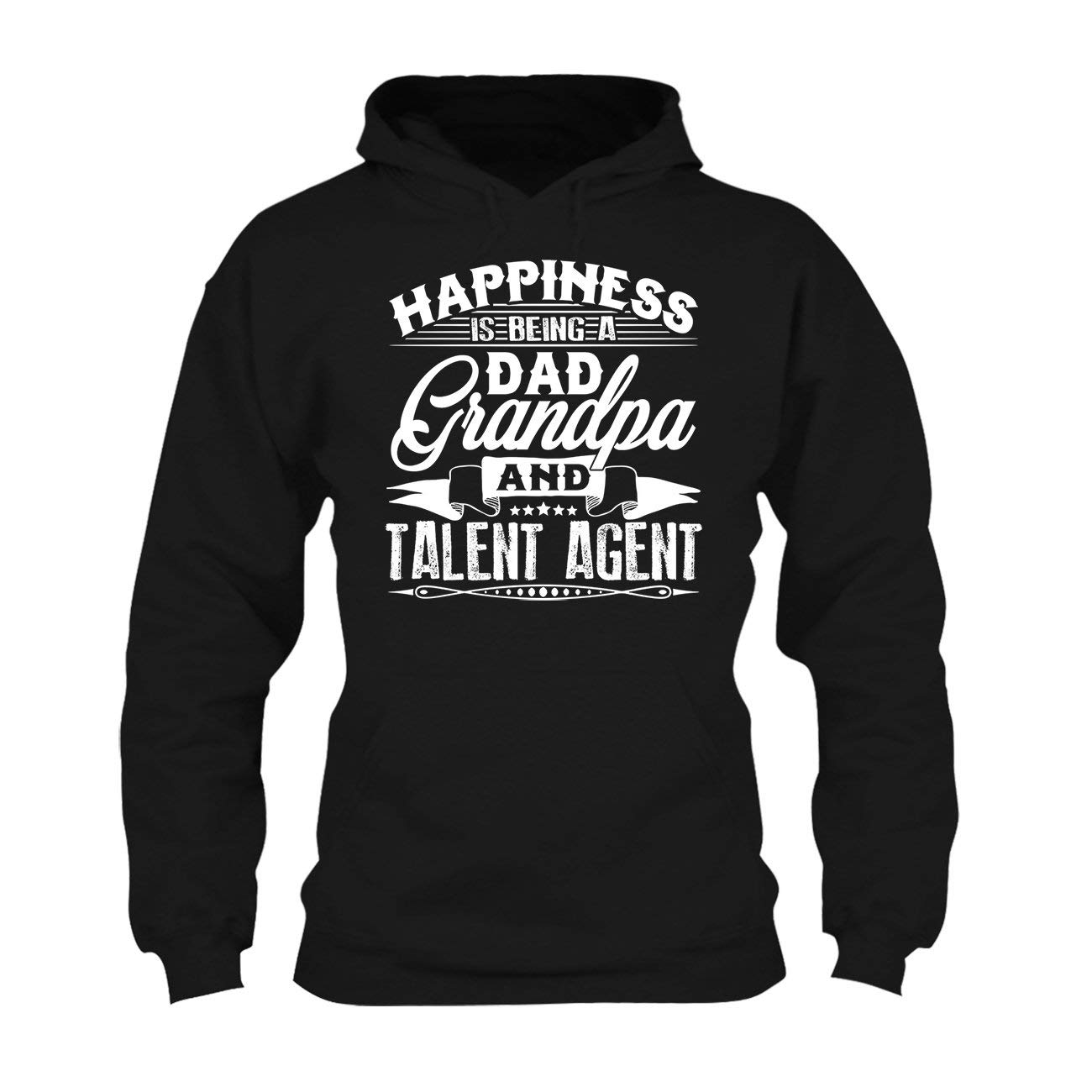 Long Sleeve Shirt Love Being Dad Grandpa and Talent Agent Tee Shirt