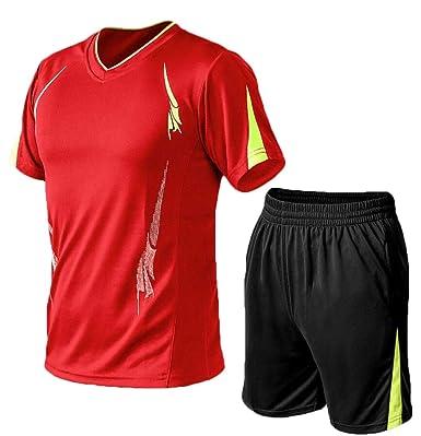 dahuo - Chándal Casual de Manga Corta para Correr, Atletismo ...