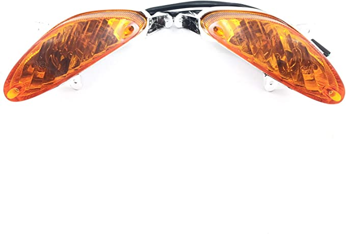 Blinker Set R L In Orange Z B Für Benzhou Yiying Yy50qt 02 Baotian Bt49qt 9 Speedy Mks Ecobike Jinlun Jl50qt 5 Benero Motino China Roller Gy6 Auto