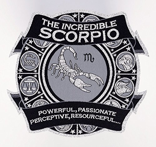 """Astro-Patch - The Incredible Scorpio 5"""" X 5 1/2"""" (approx...."""