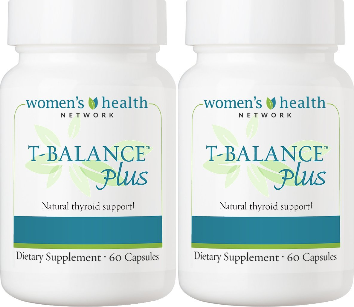 T-Balance Plus Thyroid Support Supplement by Women's Health Network - Natural Supplement for Thyroid Health (2 Bottles) by Women's Health Network