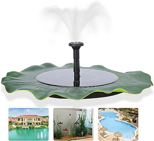 Solar Powered Fountain Water Pump Floating for Garden Pond Pool Fish Bird Bath