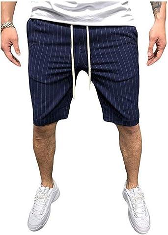 Pantalones Cortos Deportivos de Verano para Hombres Pantalones ...