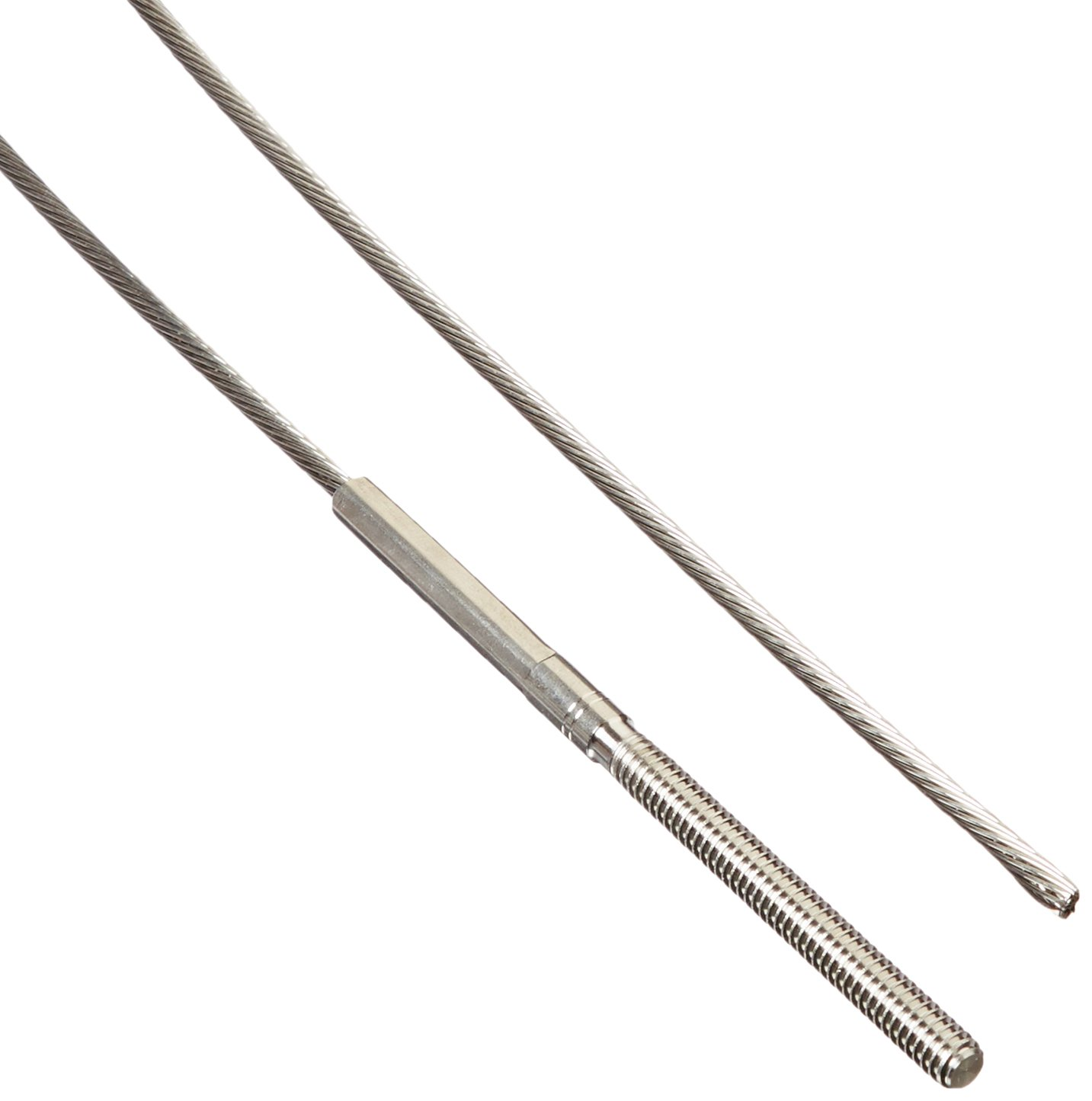 Feeney CR-6215 Cablerail Assemblies for Metal with 4 1/4'' Terminal, 1/8'', 15' (Pack of 1)
