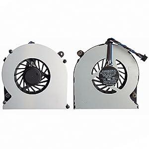 Todiys CPU Fan for HP ProBook 4535S 4530S 4730S 6460B EliteBook 8460W 8470W 8450P 8460P 8470P 641839-001 646285-001