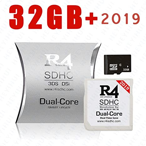 Tarjeta SD Dual-Core SDHC + 32GB 2019 para DS - DS Lite - DSi - DSi XL - 3DS - 2DS - Ya descargue el Kernel ES-IT-FR-DE-UK