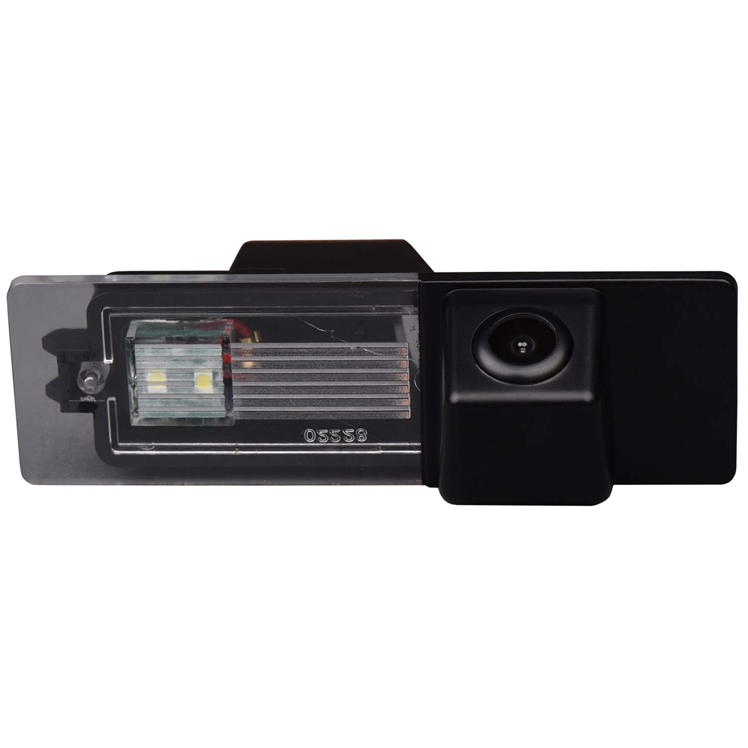 Misayaee Reversing Vehicle-Specific Camera Integrated in Number Plate Light License Rear View Backup camera for BMW 1 Series M1 E81 E87 F20 F21 116i 118i 120i 135i 640i Mini Cooper R55 R57 R60 R61