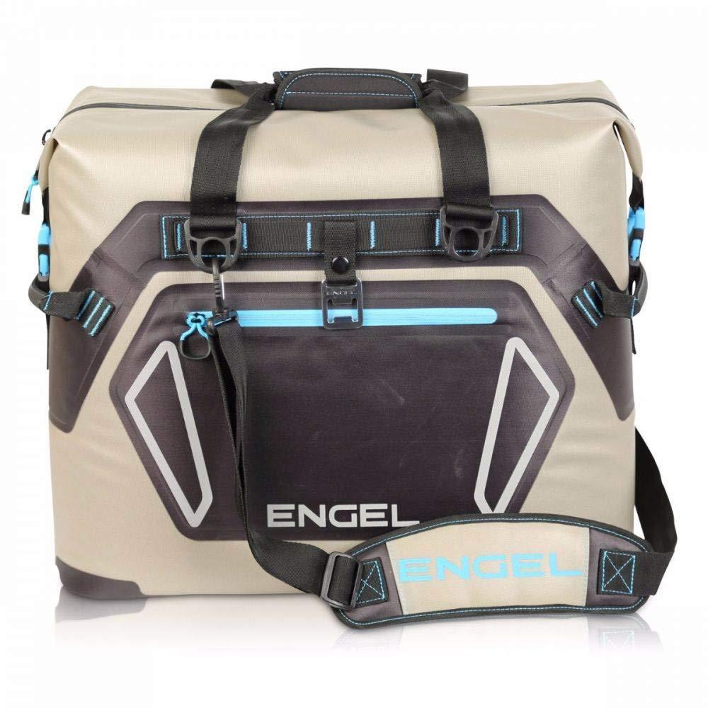 ENGEL HD30 Waterproof Soft-Sided Cooler Bag – Tan Blue