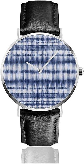 Tinte Azul Resumen Indigo Shibori Strokes Tye Azul Marino ...