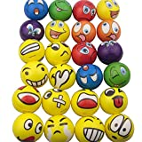 Mydio Set of 24 Emoji Stress Balls,Stress Reliver Party...