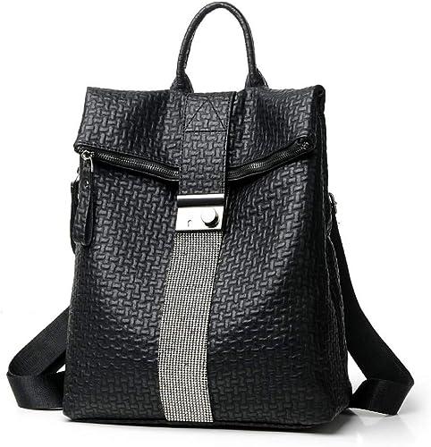 UK Women Backpack Travel Shoulder Bag Ladies PU Leather Rucksack Anti-Theft
