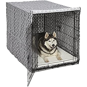 Amazon Com Xl Dog Crate Midwest Icrate Folding Metal