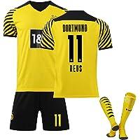 Mijiang Ropa De Fútbol, 21-22 Dortmund Home Stadium No. 9 Camiseta Harland No. 11 Camiseta De Fútbol Royce con…