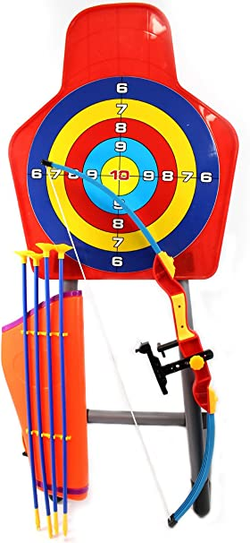 Amazon Com Ampersand Shops Children S King Sport Large Archery Toy Set With Target And Stand Sports Outdoors The amazon arrow/feargirl crossover indiegogo campaign is going on now through july 13, 2016 11:59pm pdt! ampersand shops children s king sport large archery toy set with target and stand