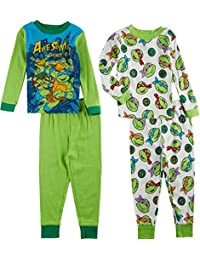 Ninja Turtles Toddler Boys 4-pc. Pajama Set