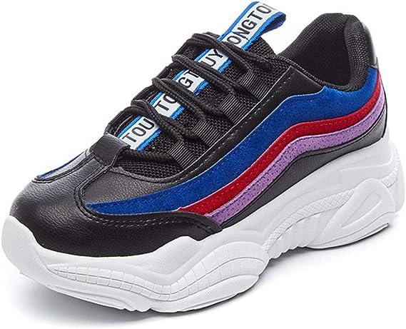 Zapatillas de Mujer, Invierno Harajuku Running Zapatos Coreano ...