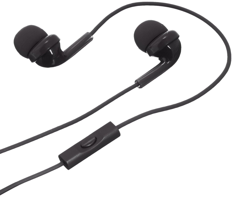 Basics in-Ear Headphones with Mic – Black