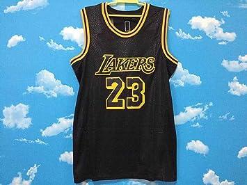 YMXBK Camiseta de Baloncesto para Hombre James Lakers 23 Laker ...