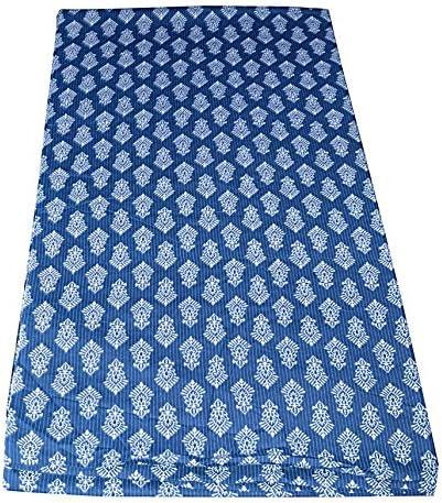 Indian Hand Block Print Fabric Pure Cotton Fabric Sanganer Jaipur Natural Vegetable Color 2.5 To 50 Yards Print 240