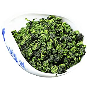Oolong - Tie Guan Yin - Monkey Picked - Chinese Tea - Green Tea - Caffeinated - Tea - Loose Tea - Loose Leaf Tea - 3oz